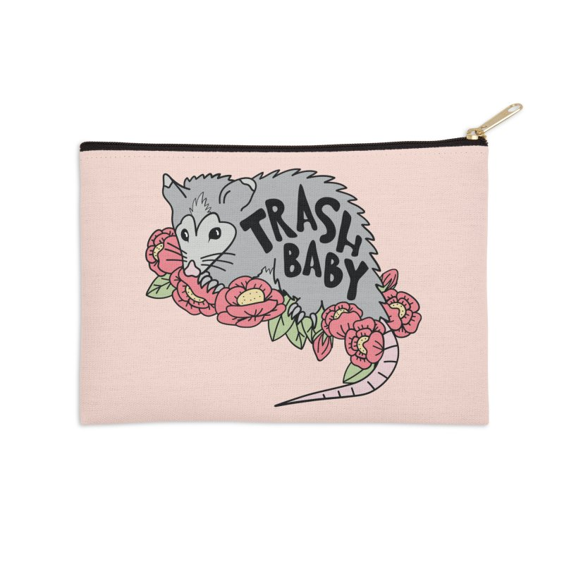 Trash Baby Accessories Zip Pouch by Wild Hunt