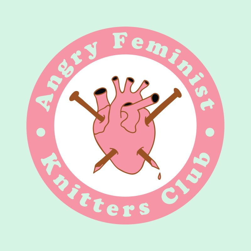 Angry Feminist Knitters Club- Pink by Wild Hunt
