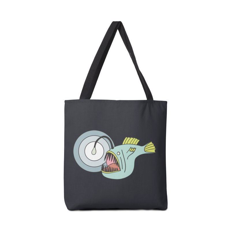 Anglerfish Accessories Tote Bag Bag by Wild Hunt
