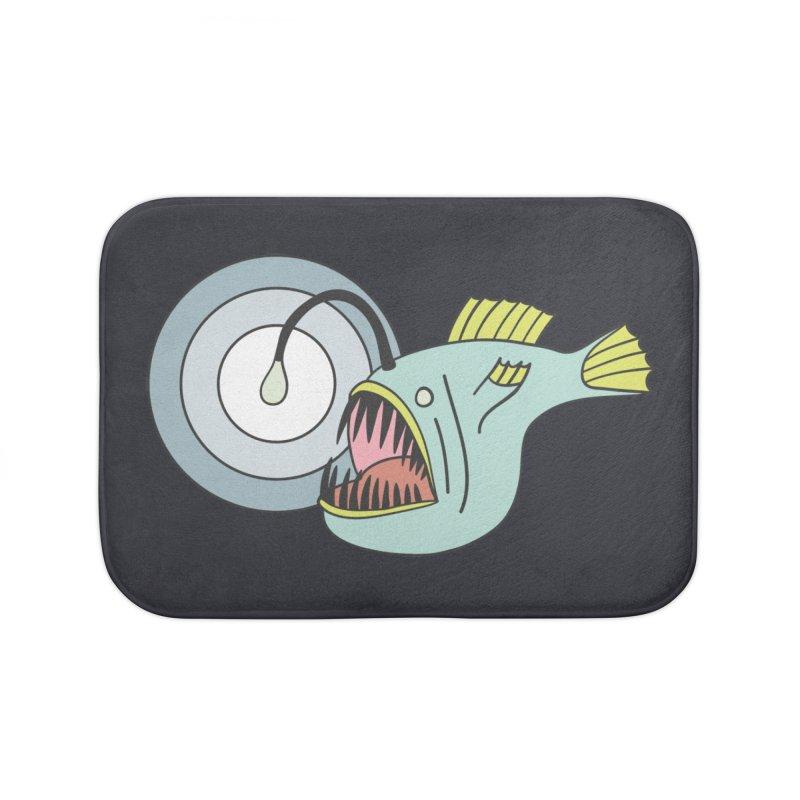 Anglerfish Home Bath Mat by Wild Hunt
