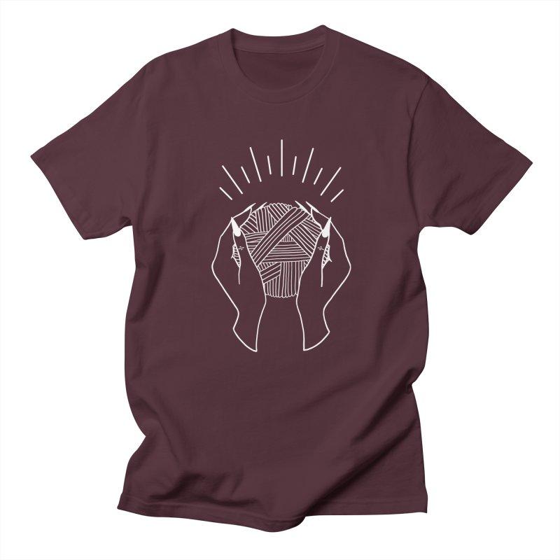 Yarnbearer- White Women's Regular Unisex T-Shirt by Wild Hunt