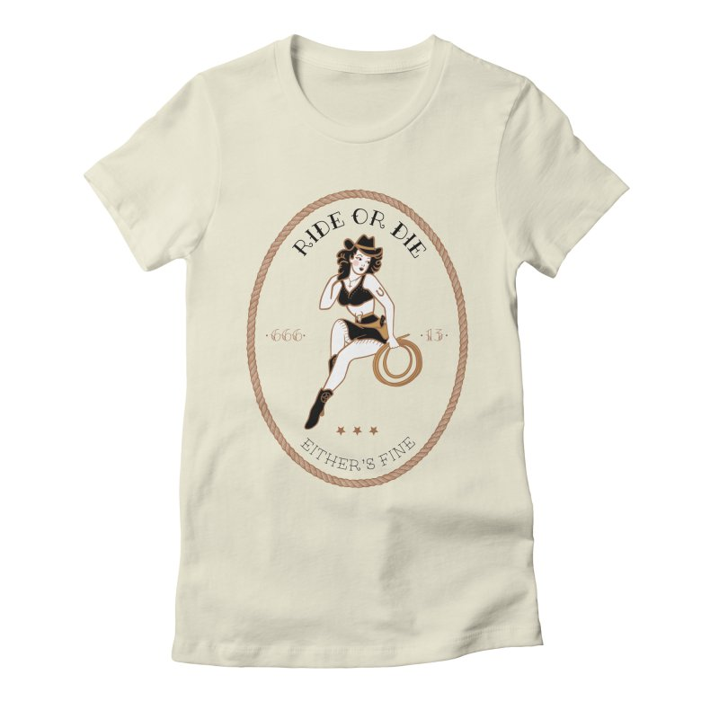 Ride or Die Transparent (Light Colors) Women's T-Shirt by Wild Hunt