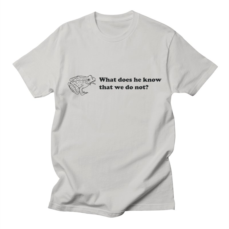 Wise Frog Men's T-Shirt by Wild Hunt