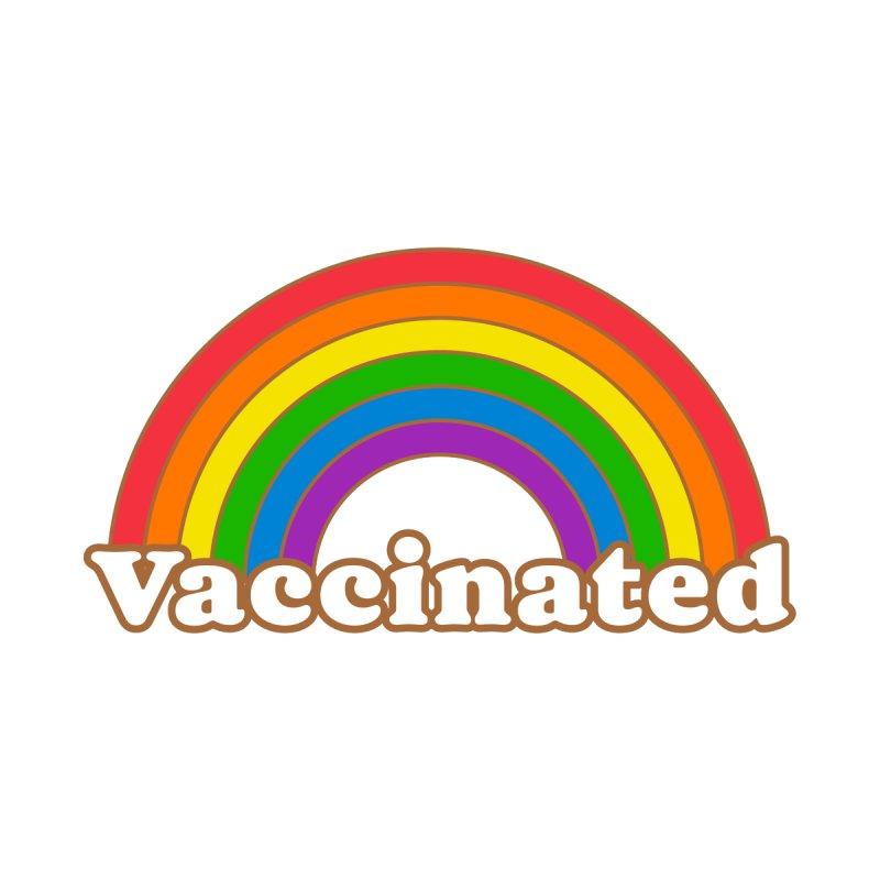 Vaccinated Rainbow Men's T-Shirt by Wild Hunt