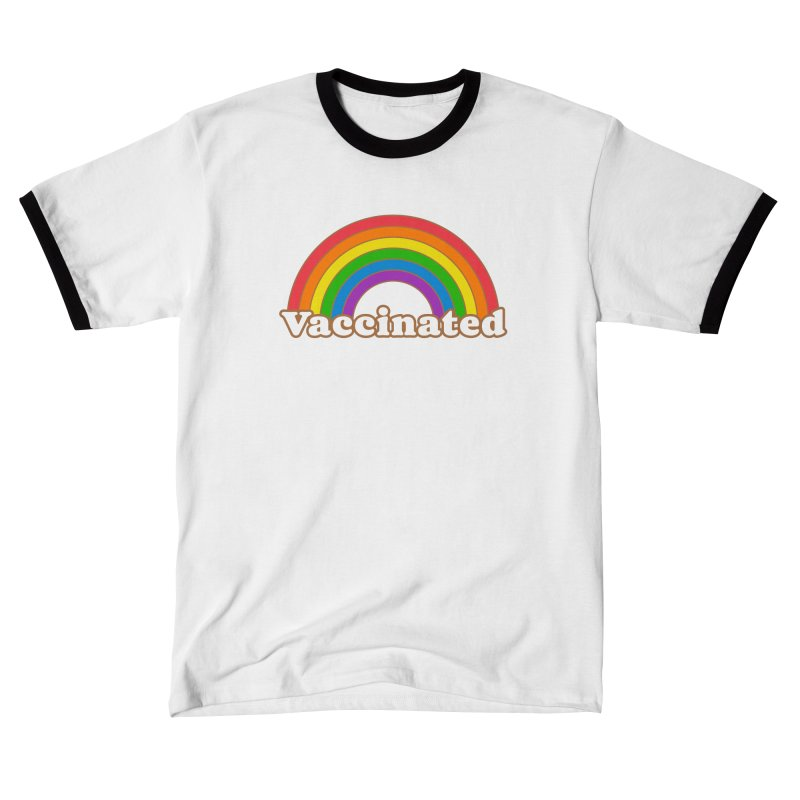 Vaccinated Rainbow Women's T-Shirt by Wild Hunt