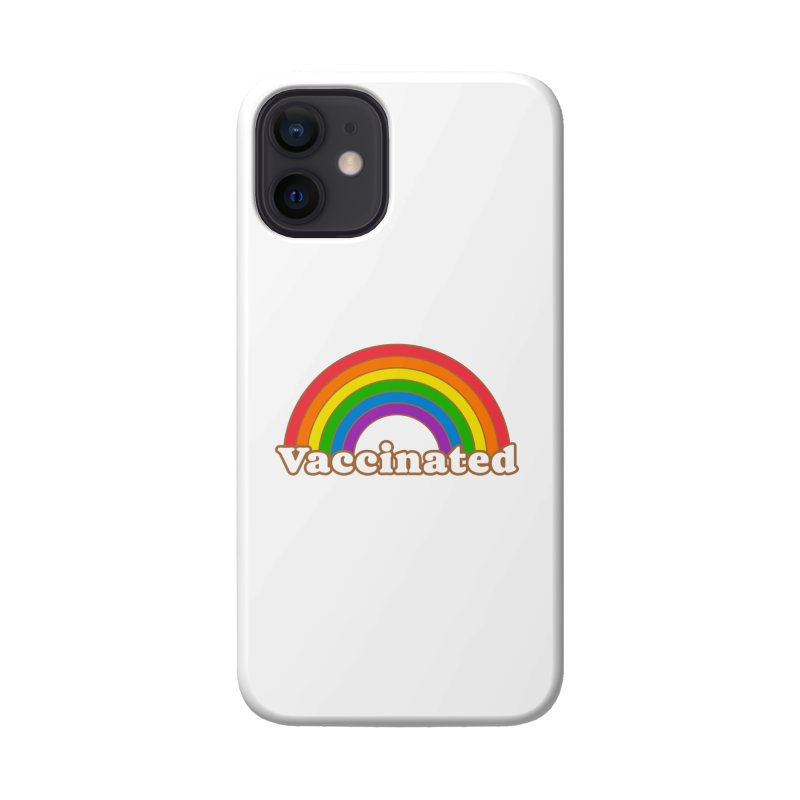 Vaccinated Rainbow Accessories Phone Case by Wild Hunt