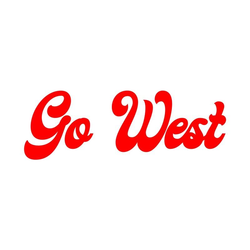 Go West Women's Scoop Neck by Wild Hunt