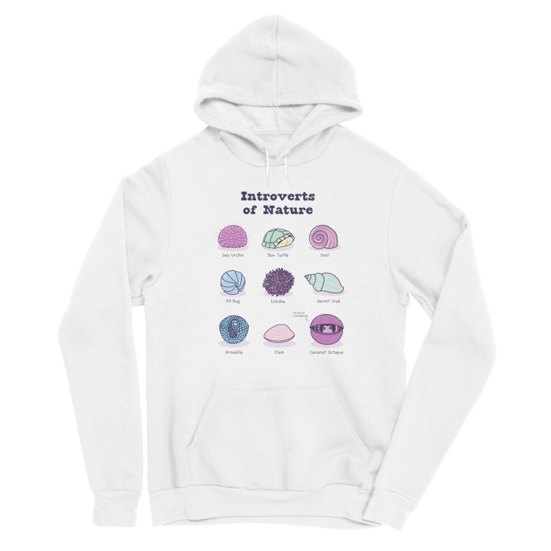 Introverts of Nature (Pastel) Women's Pullover Hoody by Wild Hunt