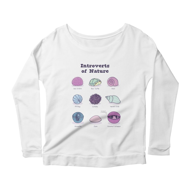 Introverts of Nature (Pastel) Women's Longsleeve T-Shirt by Wild Hunt