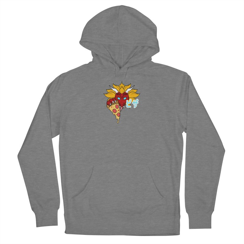 Pizza Monster Women's Pullover Hoody by Wild's Designs