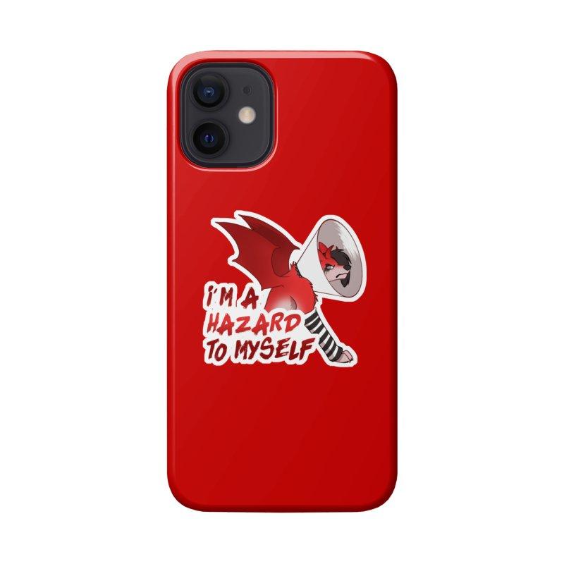Hazardous Hellhound Accessories Phone Case by Wild's Designs