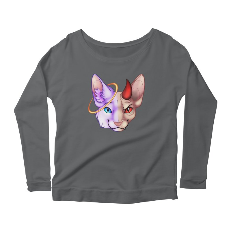 I can be your angle, or yuor devil Women's Longsleeve T-Shirt by Wild's Designs