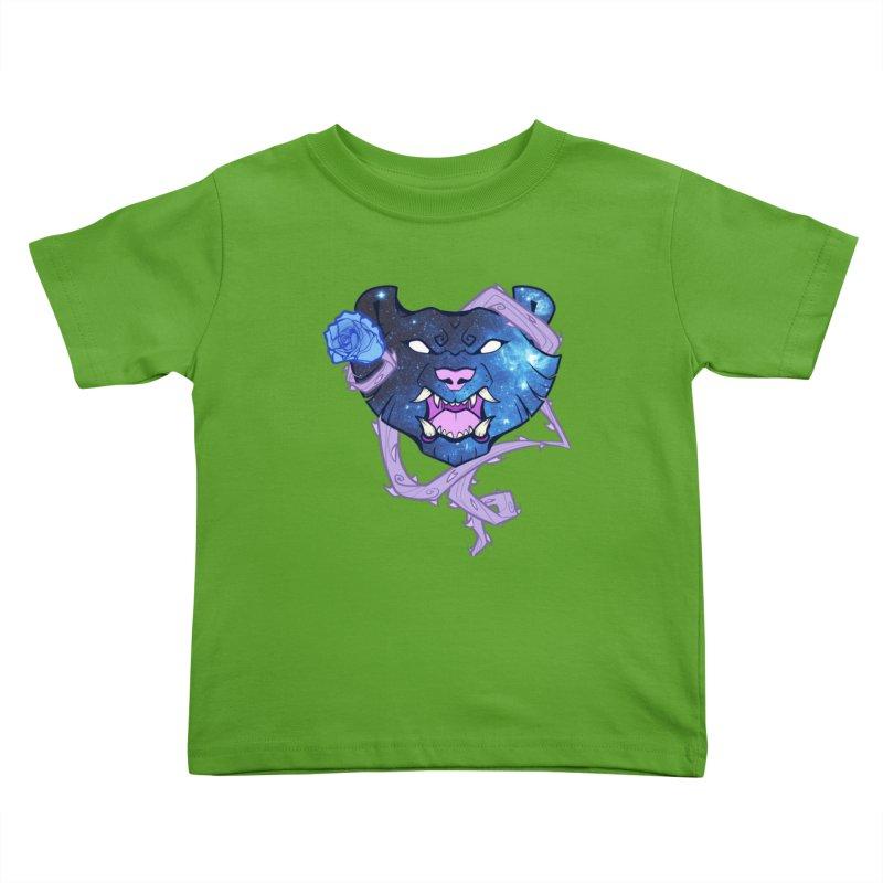 Galactic Roar Kids Toddler T-Shirt by Wild's Designs