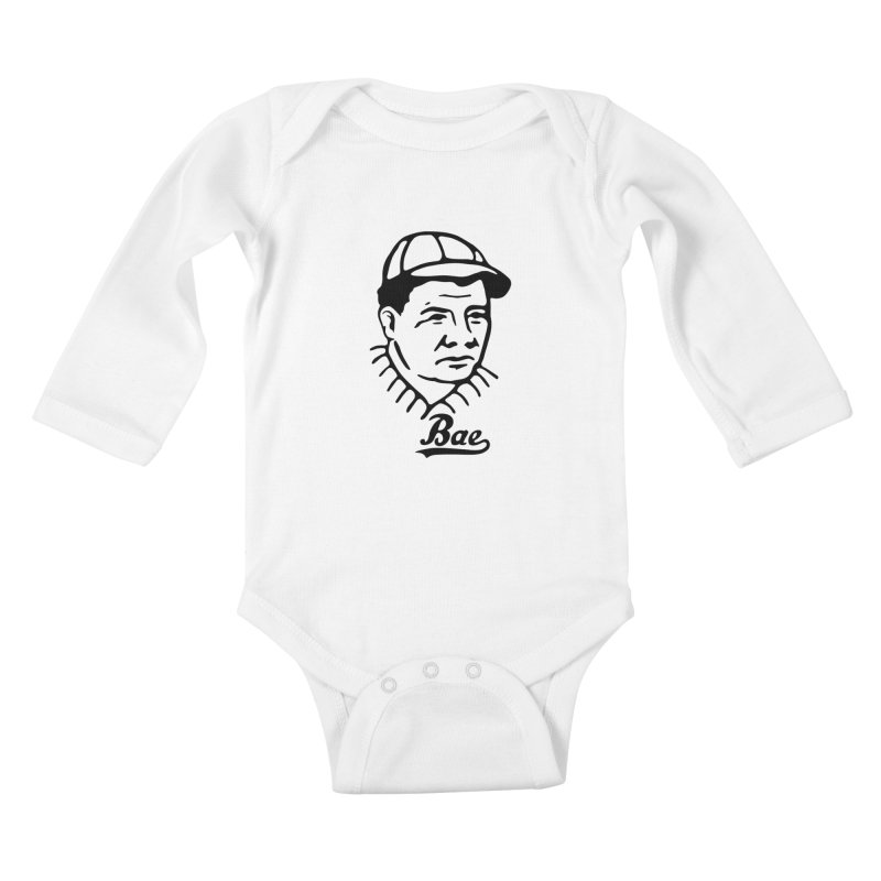 Bae Kids Baby Longsleeve Bodysuit by wildmethod's Artist Shop