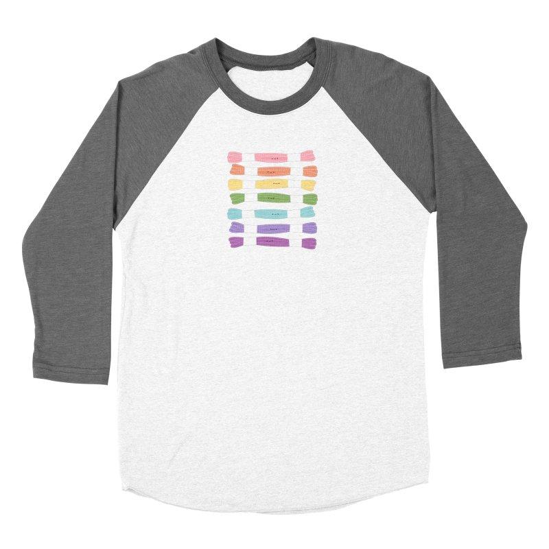 A Rainbow of Floss Women's Longsleeve T-Shirt by Wild Olive's Artist Shop
