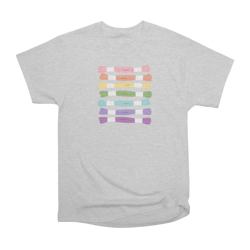 A Rainbow of Floss Women's Classic Unisex T-Shirt by wildolive's Artist Shop