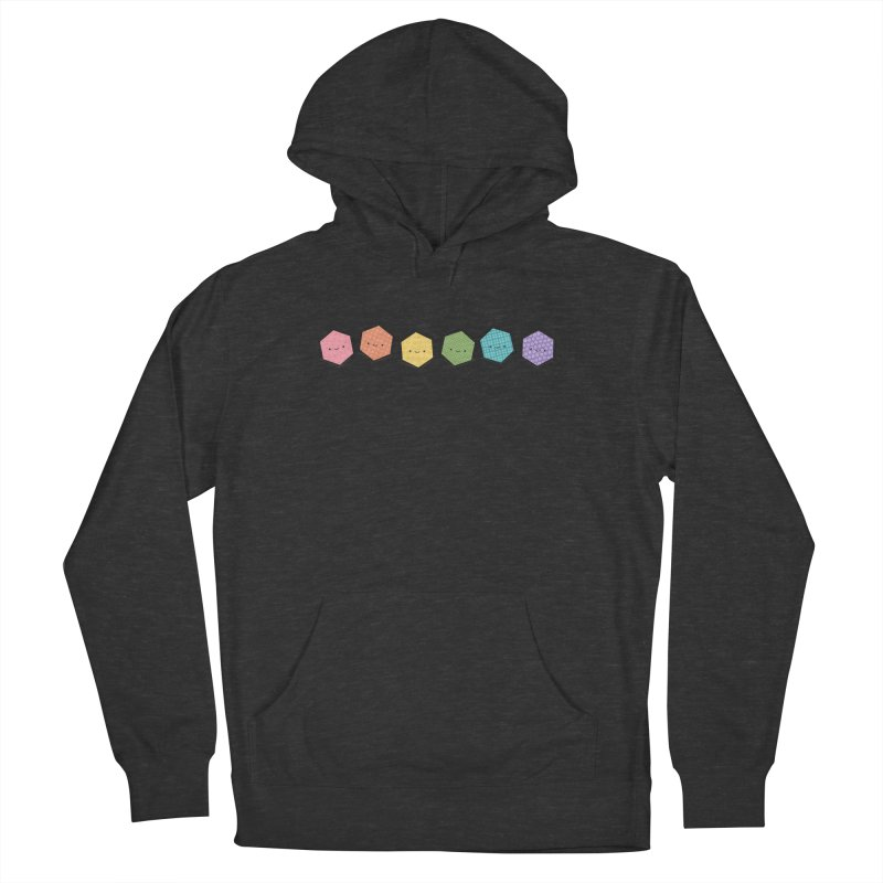 A Rainbow of Hexagons Men's Pullover Hoody by wildolive's Artist Shop