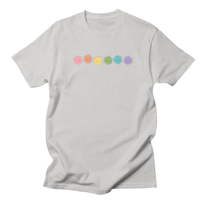 A Rainbow of Hexagons Women's Unisex T-Shirt by wildolive's Artist Shop