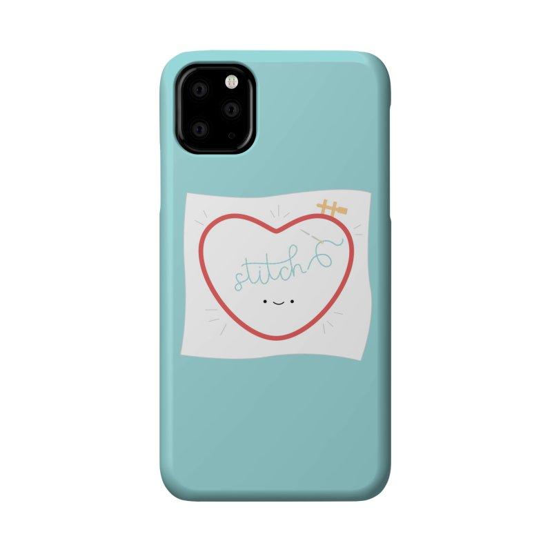 Stitch Love Accessories Phone Case by Wild Olive's Artist Shop