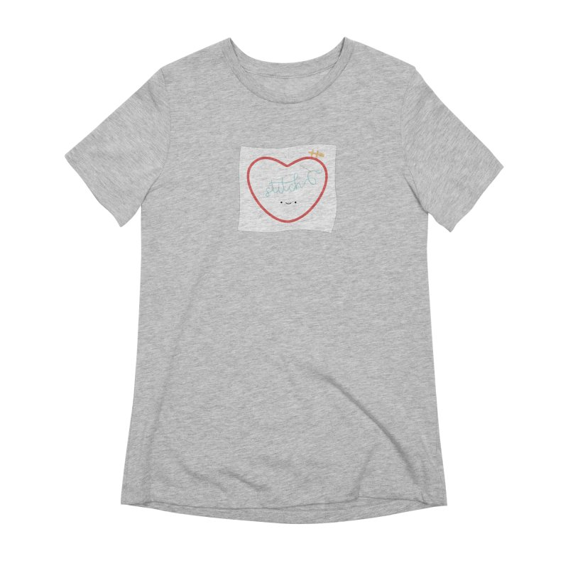 Stitch Love Women's Extra Soft T-Shirt by Wild Olive's Artist Shop