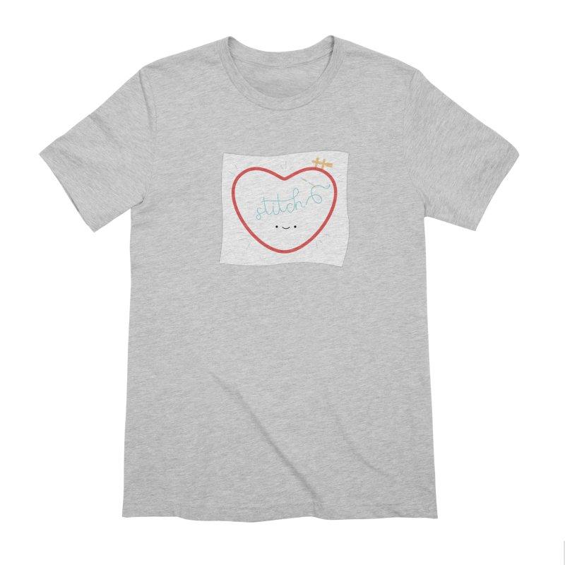 Stitch Love Men's Extra Soft T-Shirt by wildolive's Artist Shop