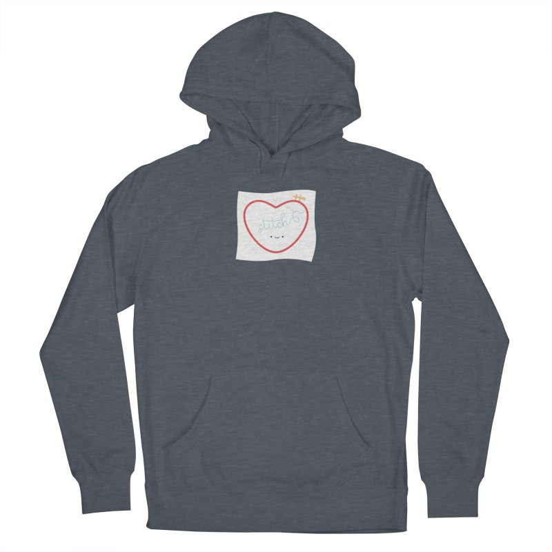 Stitch Love Women's French Terry Pullover Hoody by Wild Olive's Artist Shop