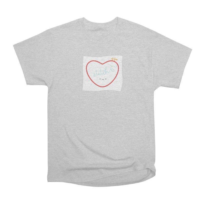 Stitch Love Men's Heavyweight T-Shirt by wildolive's Artist Shop