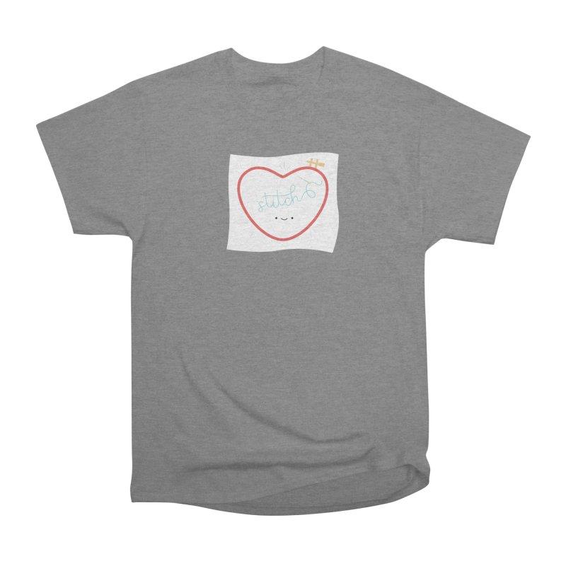 Stitch Love Men's Heavyweight T-Shirt by Wild Olive's Artist Shop