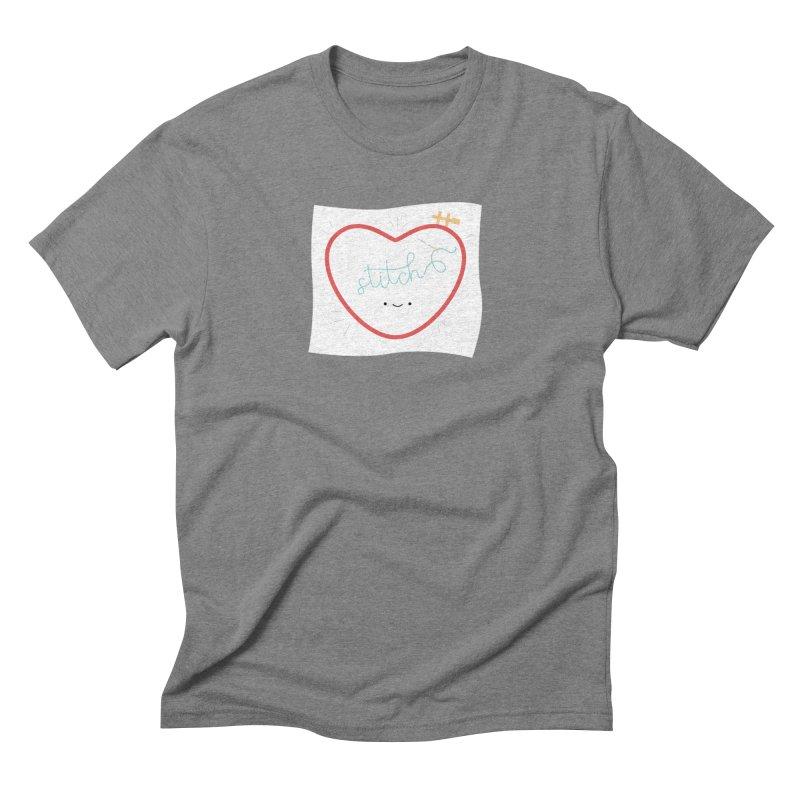 Stitch Love Men's Triblend T-Shirt by Wild Olive's Artist Shop