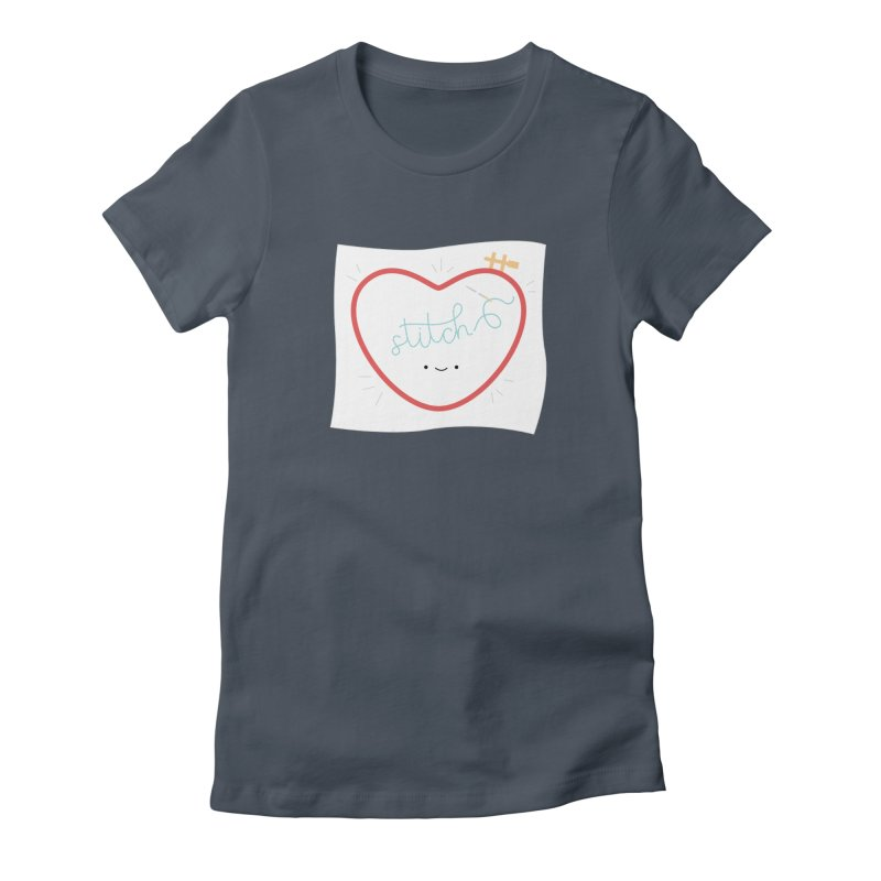 Stitch Love Women's T-Shirt by Wild Olive's Artist Shop