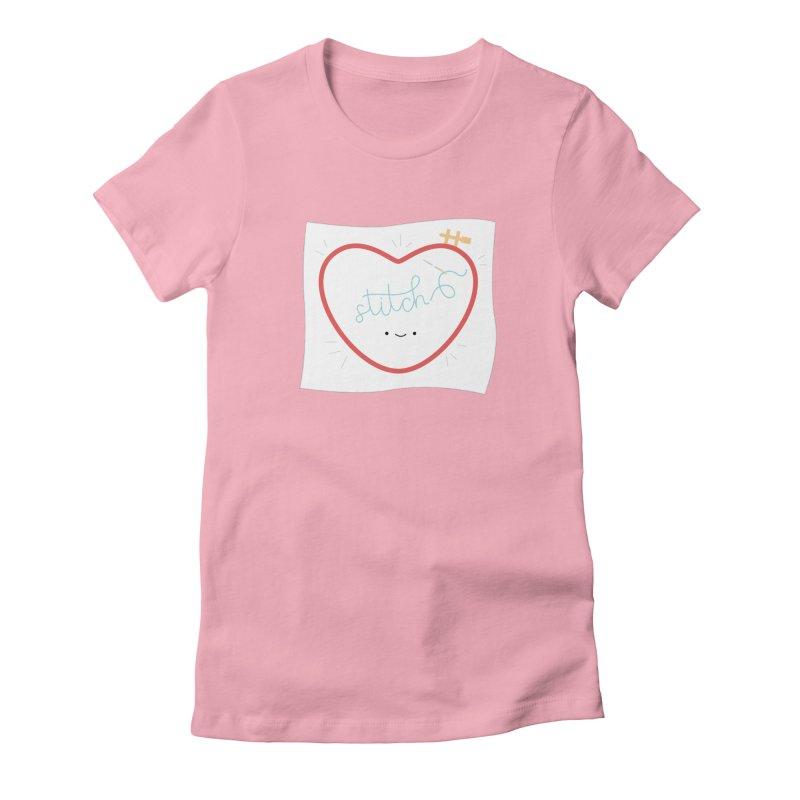 Stitch Love Women's T-Shirt by Wild Olive's Artist Shop
