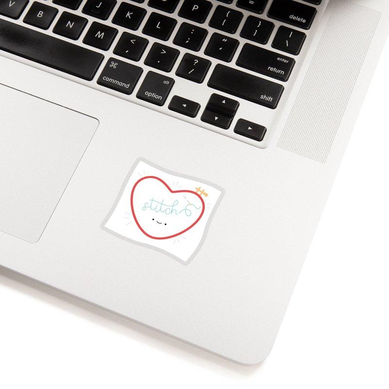 Stitch Love Accessories Sticker by Wild Olive's Artist Shop