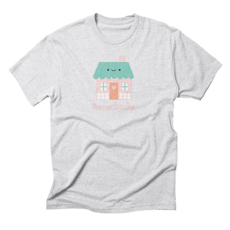 Happy Home - Homebody Men's Triblend T-Shirt by Wild Olive's Artist Shop