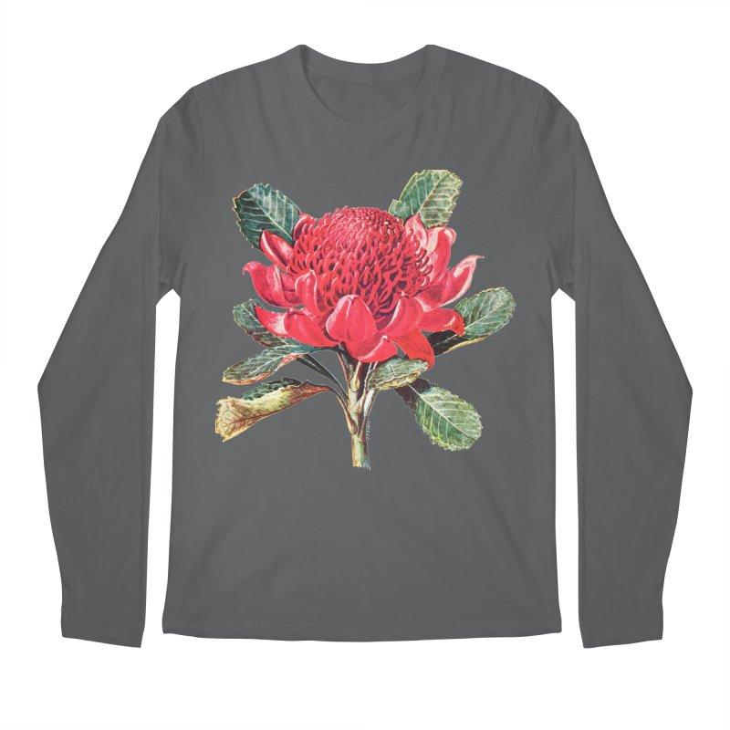 Going Red Men's Longsleeve T-Shirt by Wild Roots Artist Shop