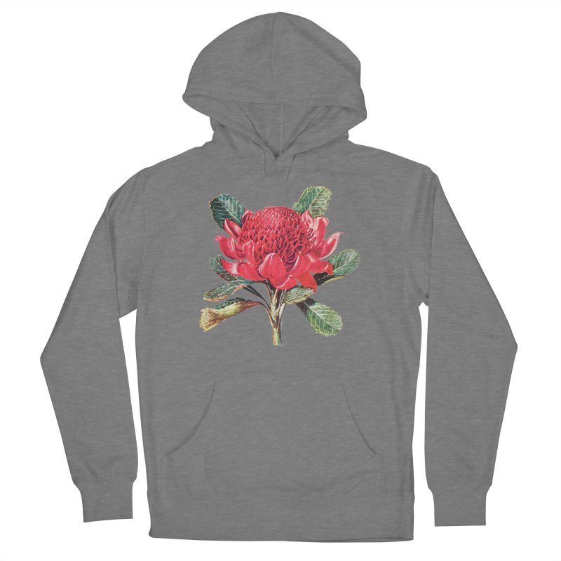 Going Red Women's Pullover Hoody by Wild Roots Artist Shop