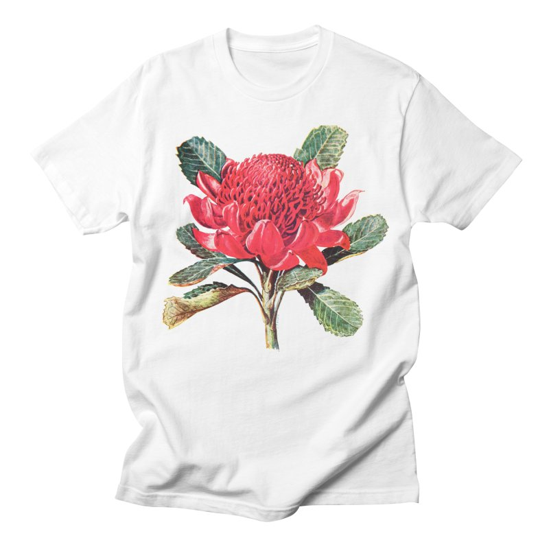 Going Red Women's Regular Unisex T-Shirt by Wild Roots Artist Shop