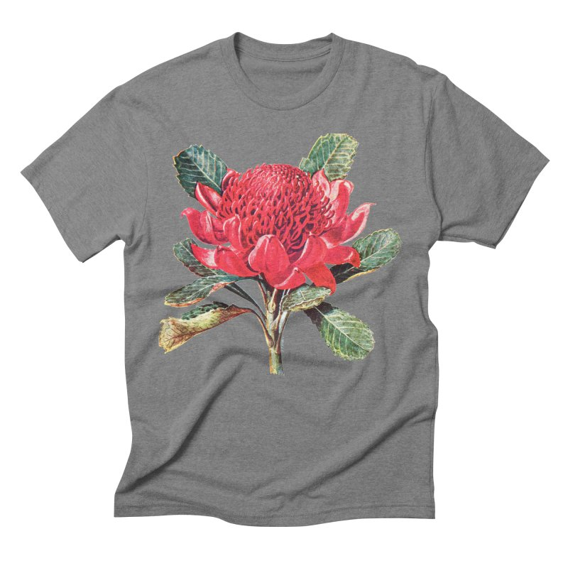 Going Red Men's Triblend T-Shirt by Wild Roots Artist Shop