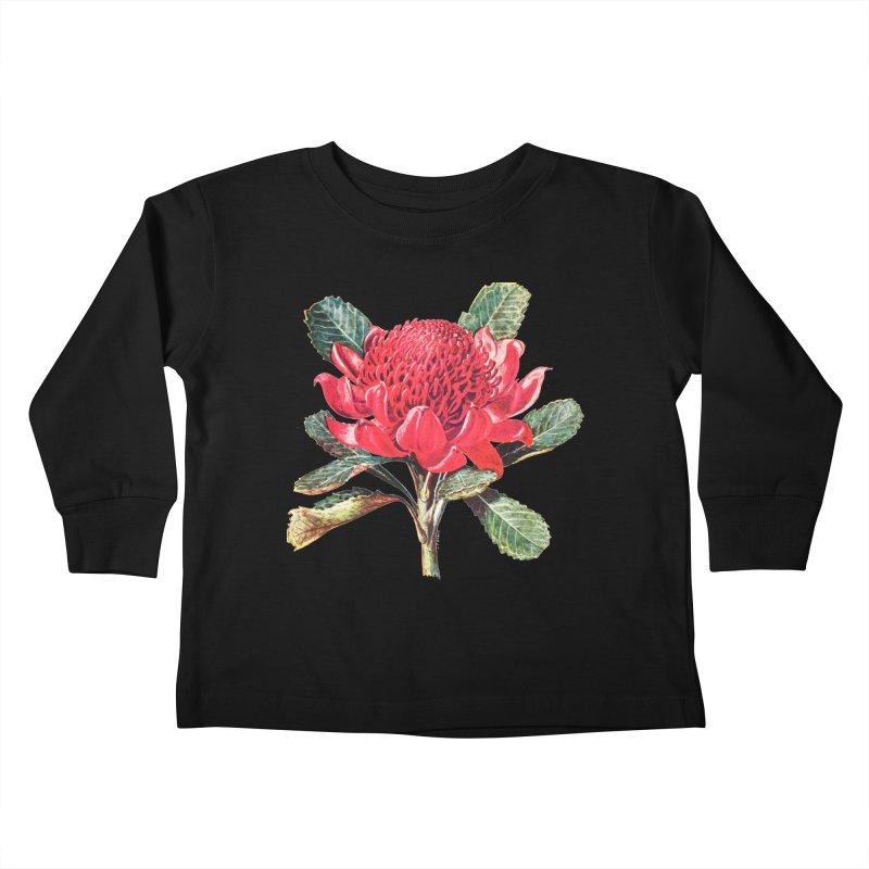 Going Red Kids Toddler Longsleeve T-Shirt by Wild Roots Artist Shop
