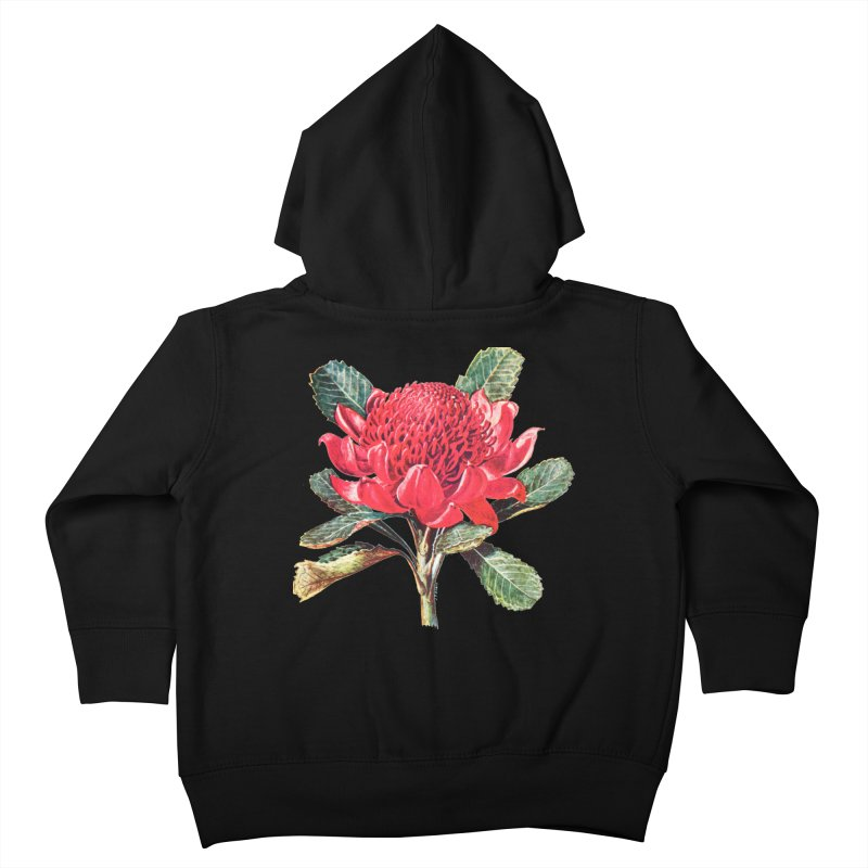 Going Red Kids Toddler Zip-Up Hoody by Wild Roots Artist Shop