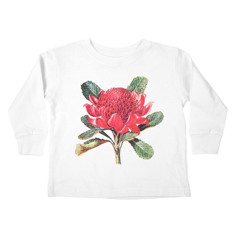 Going Red Kids Toddler Longsleeve T-Shirt by Wild Roots Artist Shop