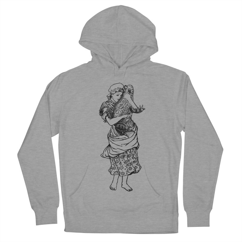Warts and All Men's Pullover Hoody by Wild Roots Artist Shop