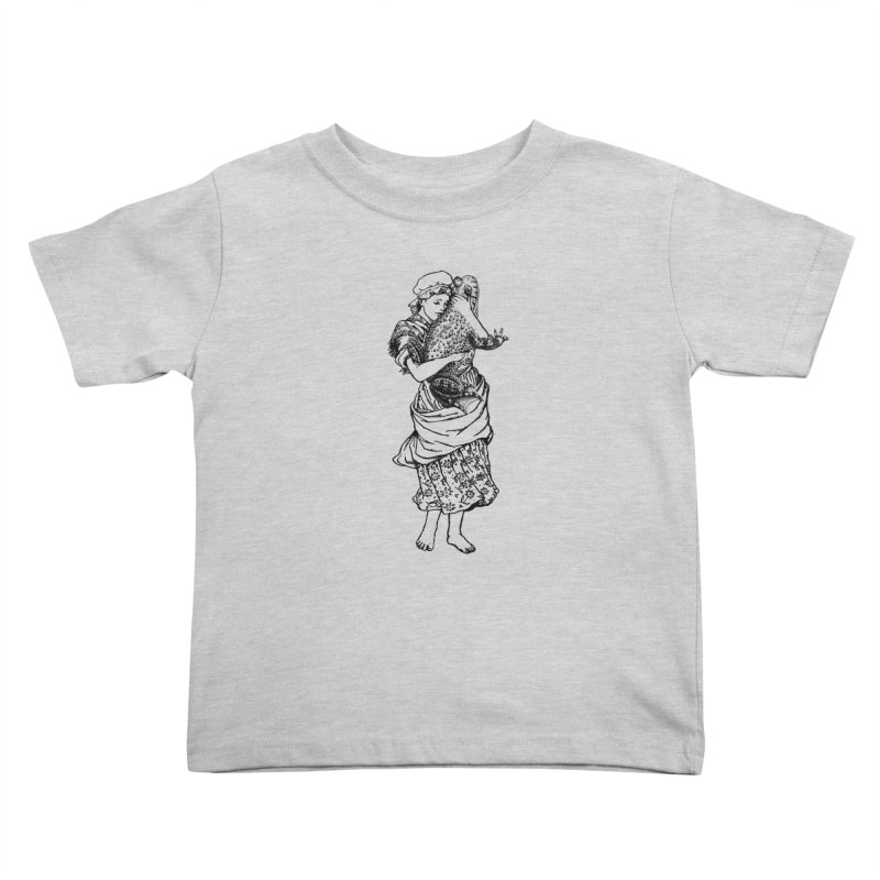 Warts and All Kids Toddler T-Shirt by Wild Roots Artist Shop