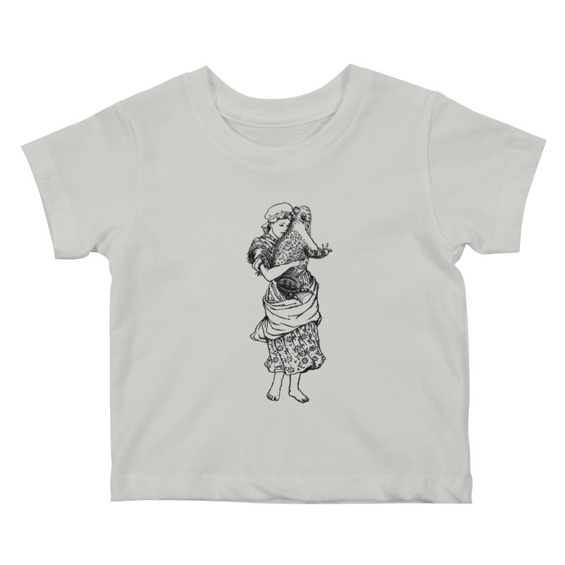 Warts and All Kids Baby T-Shirt by Wild Roots Artist Shop