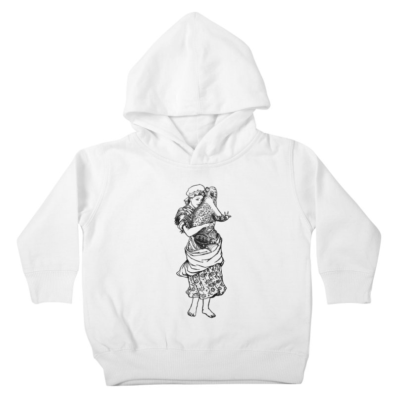 Warts and All Kids Toddler Pullover Hoody by Wild Roots Artist Shop