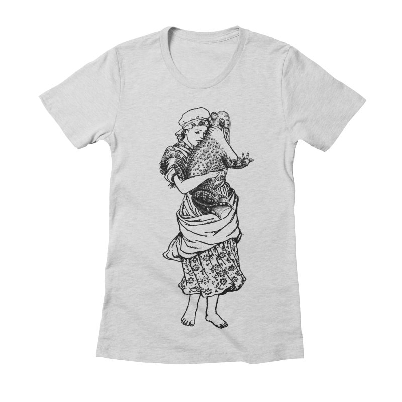 Warts and All Women's Fitted T-Shirt by Wild Roots Artist Shop
