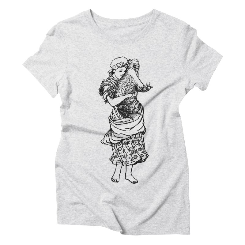 Warts and All Women's Triblend T-shirt by Wild Roots Artist Shop