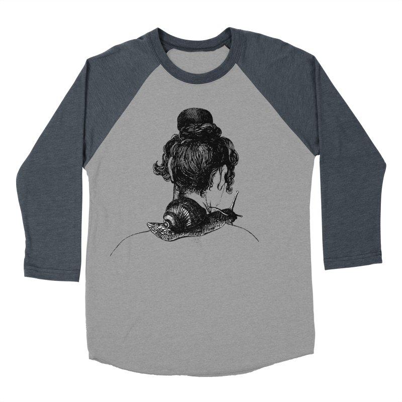 Strange Comfort Men's Baseball Triblend T-Shirt by Wild Roots Artist Shop