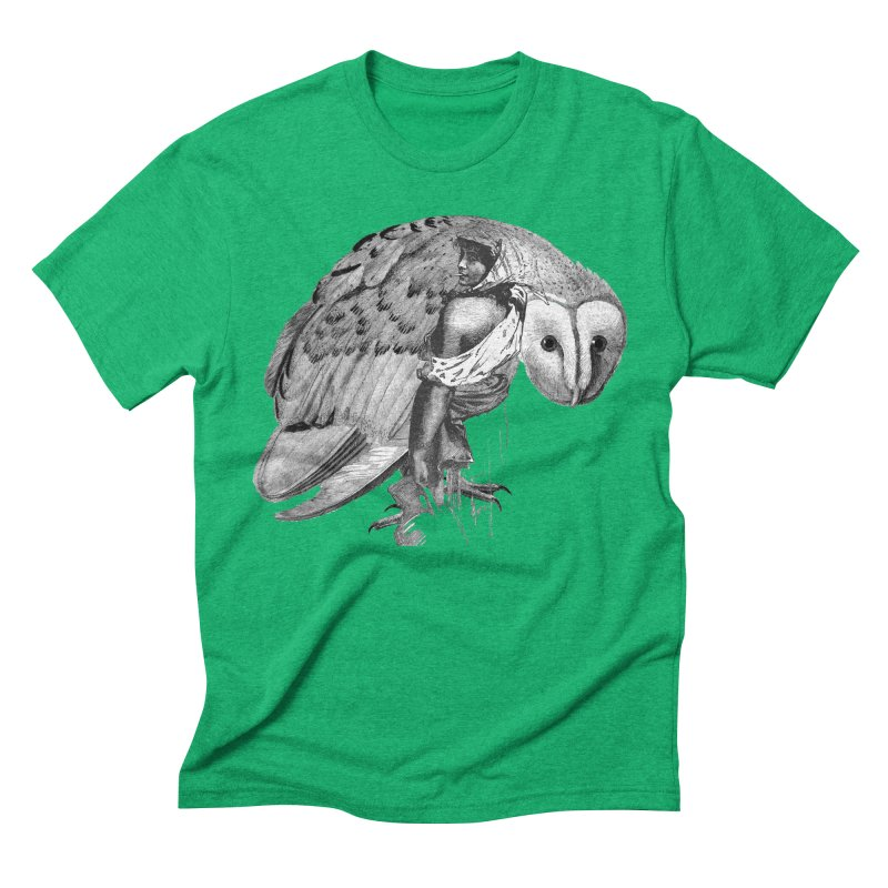 These Eyes Men's Triblend T-Shirt by Wild Roots Artist Shop