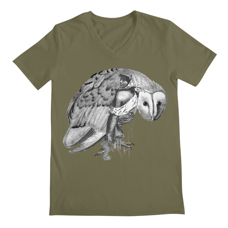 These Eyes Men's V-Neck by Wild Roots Artist Shop