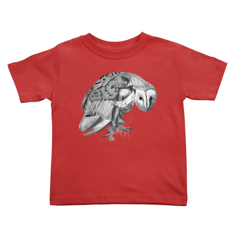 These Eyes Kids Toddler T-Shirt by Wild Roots Artist Shop